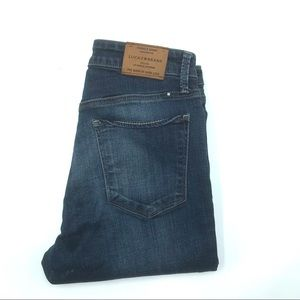 Lucky High Rise Skinny Jeans, Size 6/28, EUC